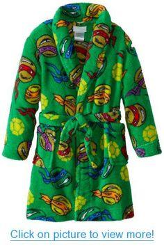 Nickelodeon Boys 2-7 Teenage Mutant Ninja Turtles Plush Robe