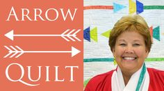 Have you seen this? The Arrow Quilt Using Sizzix Die Cuts: Easy Quilt Tutorial by Jenny Doan...