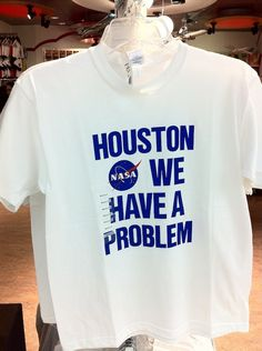 Houston... we have a problem!
