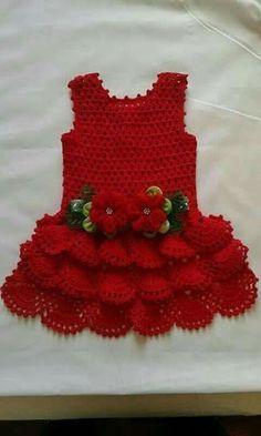 Best 12 baby crochet patterns 2016 Archives – Beautiful Crochet Patterns and Knitting Patterns – SkillOfKing. Crochet Baby Dress Pattern, Baby Girl Crochet, Crochet Baby Clothes, Crochet For Kids, Knit Crochet, Crochet Patterns, Knitting Patterns, Pinterest Crochet, Beautiful Crochet