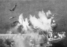 Mosquito attack on Dalsfjord, 23 March 1945