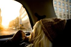 A relaxing  car ride can be almost hypnotizing. What is it about staring out of a car window that chills out the soul?