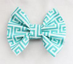 Tiffany Blue Hair Bow   Robbin's Egg Blue Hair by DressYourTresses, $4.25