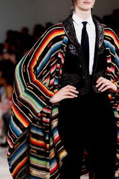 Ralph Lauren S/S '13 - definitely a knit or crochet inspiration here