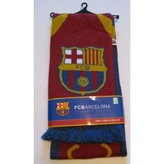 Official FC Barcelona Soccer Scarf by Rhinox. $14.50