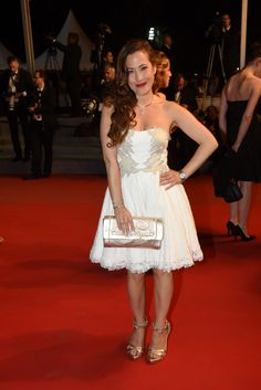 Myriam Charleins wearing a Charriol St-Tropez watch at Cannes Film Festival 2015 Cannes Film Festival 2015, Charriol, Swiss Made Watches, Elsa, Luxury Branding, 17 Mai, Fashion Accessories, Dressing, Formal Dresses