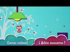Cuento infantil para no tener miedo a la oscuridad ni a los monstruos. Para ir a dormir. Más vídeos infantiles en castellano e inglés en : https://www.youtub...