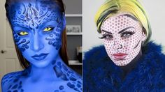 11 Halloween Makeup Ideas That'll Take Your Zombie, Pop Art, and 'Frozen' Costumes To An Entirely New Level Of Creepy Awesomeness