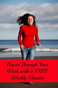 Power Through Your Weekly Routine with a Downloadable Planner From My Upcoming eBook