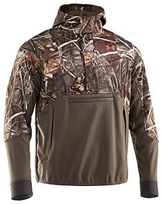 Under Armour® ColdGear® SkySweeper Wind Hoody for Men | Bass Pro Shops