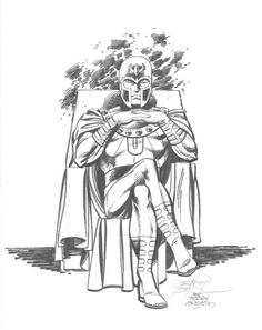 Magneto by John Byrne & Terry Austin. 1982.