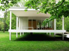 Farnsworth House 1946-51|Mies van der Rohe
