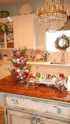 89 best kitchen christmas decorating ideas images in 2016 rh pinterest com