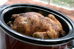 Slow Cooker Rotisserie Chicken Recipe