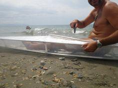 Construcción de un kayak plegable