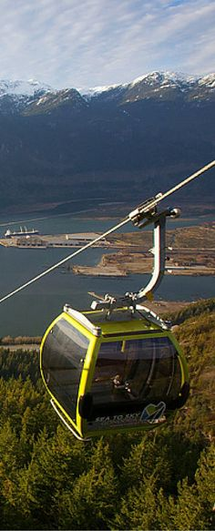 Board the Sea to Sky Gondola near Squamish. Experience this in Vancouver, Canada!