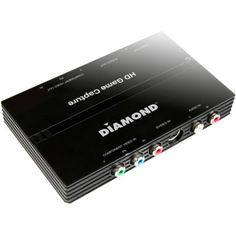 Diamond Usb 2.0 Gc500 Hd Component Pass Through Game Console Video Capture Device  Functions: Video Game Capturing Video Recording Video Editing  Usb 2.0  1920 X 1080  Ntsc Pal  (gc500ca)