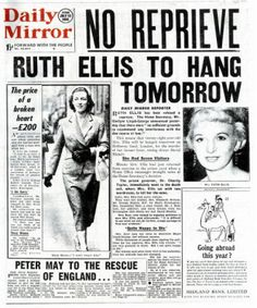 Image result for ruth ellis hanging pictures