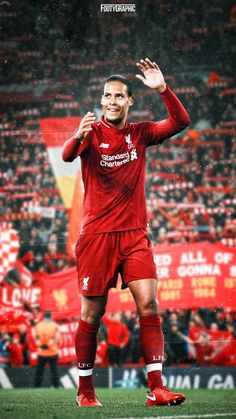 """Virgil Van Dijk: """"I read that if we win the Champions League, our next two games are the Community Shield and European Super Cup. We can win three cups in three games. It's something we strive for. Liverpool Players, Fc Liverpool, Liverpool Football Club, Champions League, Vancouver Whitecaps Fc, Football Memes, Nfl Football, College Football, Liverpool Fc Wallpaper"""