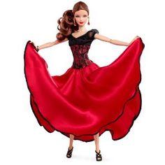 Mattel W3319 - Dancing with the Stars Paso Doble Barbie Doll: Amazon.it: Giochi e giocattoli