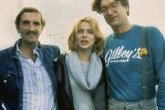 wandrlust:  Harry Dean Stanton, Nastassja Kinski, and Wim Wenders of the set of Paris, Texas(1984)
