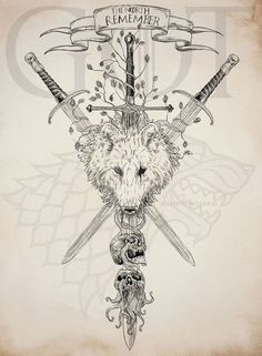 The north remember ( #22inktober ) by AnatoFinnstark on DeviantArt