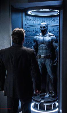 Batman v Superman avec Ben Affleck (photo via Empire mag)