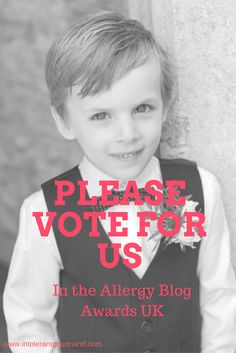 Please vote for us in the Allergy Blog Awards UK