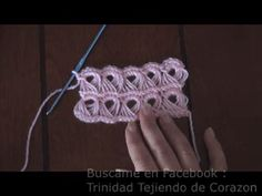Most current Absolutely Free crochet designs videos Popular Punto Peruano a Crochet paso a paso Gilet Crochet, Crochet Motif, Crochet Designs, Crochet Flowers, Crochet Lace, Crochet Squares, Irish Crochet, Knitting Stitches, Knitting Patterns