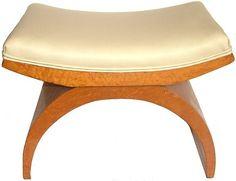 Art Deco Stool Art Deco Decor, Art Deco Design, Art Nouveau, Art Deco Furniture, Vintage Furniture, Art Deco Bedroom, Art Deco Period, Handmade Furniture, Art Deco Fashion