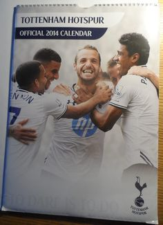 Tottenham Hotspur Official 2014 Calendar cm Hugo LLoris Younes Kaboul Defoe Safely Stored For Several Years This Will be a great Gift for any Fan Shipping will be within 2 days of your payment All Sales are Guaranteed Satisfaction We. Just Letting You Know, Public Profile, Tottenham Hotspur, Saved Items, All Sale, Number One, 30th, Great Gifts, Calendar
