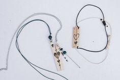 Bijoux en bois couple, coeur par CreationsBoiseesfr sur Etsy Mode Alternative, Sliding Knot, Ethical Fashion, Are You The One, Moisturizer, Wax, Creations, Jewels, Respect