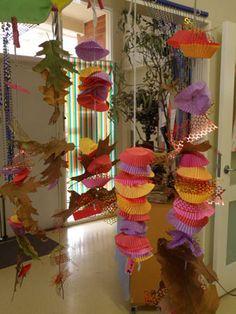 autumn leaf threading from Irresistible Ideas