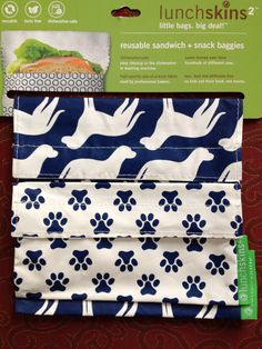Bec in BVI has been getting savvy this July by switching to these rather stylish and washable #reusable sandwich/snack bags.