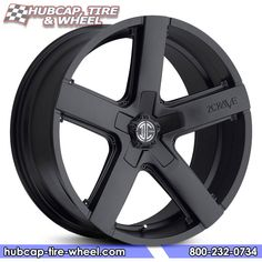 2Crave No.35 Satin Black Wheels & Rims