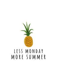 Was deze quote nog maar waarheid.. Omgekeerde wereld: more monday, less summer. Nog 4 nachtjes slapen en dan is het weer weekend! #aldoor #uiverkoopshoppen #sale #online #alles