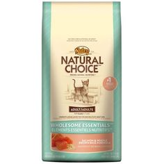 NATURAL CHOICE Wholesome Essentials Adult Cat Salmon and Whole Brown Rice Formula  3 lbs 136 kg * Click for Special Deals #FoodforCats