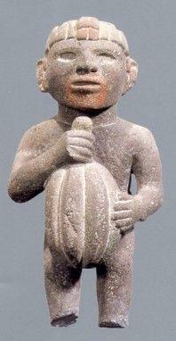 Aztec Cocao statue