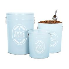 Swedish Farmhouse Dog Food Storage Canister - Harry Barker
