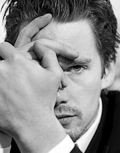 Ethan Hawke photographed by Claudio Capri, - obsessedwithethanhawke Illuminati, Moustaches, Beautiful Men, Beautiful People, Ethan Hawke, Hollywood Men, Hollywood Stars, Celebrity Portraits, Celebrity Photos