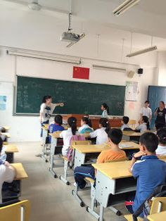 Keuka College Students Doing Community Service at a Local School in Xiamen, China | Paul McAfees Personal Blog