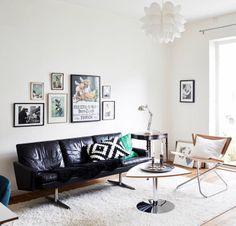 Mid-century modern living room - via cocolapinedesign.com