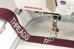 Embroidering Your Own Labels