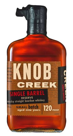 knob creeka kentucky straight bourbon whiskey color you can spot