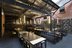Captain Melville - Melbourne Restaurant and Bar by Breathe Architecture | URDesign Magazine