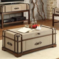 1000 Images About Trunk Coffee Table On Pinterest Steamer Trunk Lift Top Coffee Table And