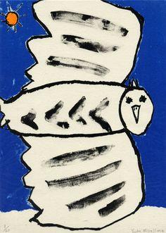 PRINT SHOW artist:No.39 宮嶋結香 MIYAJIMA Yuuka「風をあつめる」 リトグラフ 29.7×21cm lithography