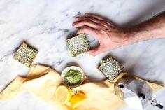 Matcha Green Tea Lemon Bars — Probably This