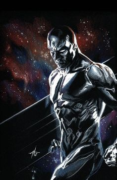 The Best Defense: Silver Surfer Virgin & Classic Variant Set issue ross marvel frost four ramos kirby lee deodato surfer bianchi men Marvel Comics Art, Marvel Comic Books, Comic Book Characters, Marvel Dc Comics, Comic Book Heroes, Marvel Characters, Marvel Heroes, Comic Books Art, Captain Marvel