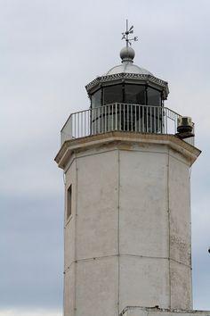 Il Faro di Manfredonia, Puglia. #faro #lighthouse #Adriatico #marAdriatico
